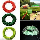 2.5mm 15M Reflective Cord High Strength Woven Rope Wind Rope Tent For Camping