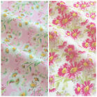 Summer Daisies 100% cotton poplin fabric sold per half metre for sewing