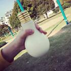 500mL Bulb Shaped Milk Juice Water Bottle Cup Glass ClearTableware Drinkware New