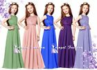 Charming Chiffon Princess  FlowerGirl Party Junior Wedding Bridesmaid Dress 6-14