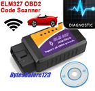 ELM 327 WiFi OBD2 OBDII Car Diagnostic Scanner Auto Scan Tool For Android iPhone