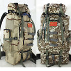 80L Military Tactical Waterproof Backpack Molle Camp Hiking Climbing Sports Bags