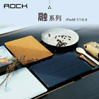 """Rock Soft PU Leather Slim Full Protection Flip Case Cover For New iPad 2017 9.7"""""""
