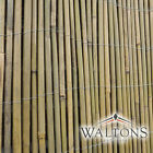 Bamboo Slat Or Cane Screening Roll Garden Fencing Panel Outdoor Privacy Fence 4m