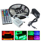 String Lights Fairy Lights - 10M 5050 RGB LED Strip With 44keys IR Remote Controller 12V 5A Power Adapter US