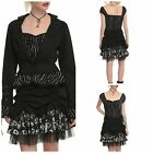 Nightmare Before Christmas Dress & Jacket Set Pin Striped Steampunk NWT
