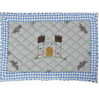 Small / Large Boy's Knight's Castle Play Mat / Floor Quilt / Rug by Win Green