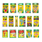 Crayola's Supertips,Crayons,Chalk,Pencils,Markers -25 Options to Choose FREE P&P