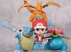 Pokemon Monster Ketchum & Charizard Bulbasaur Blastoise Action Figure Toys Dolls