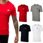 New Mens Nike Gym Sports Tee T-Shirt Top Size S M L XL XXL Black White Red Grey