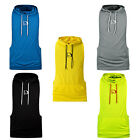 HASIDING Men Stringer Hoodies Gym Tank Top Bodybuilding Workout Profession Shirt