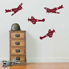 Army Wall Stickers Spitfire Aircraft Airplane Decor Vinyl Decal Sticker RAF A24