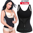 Slimming Women Waist Trainer Body Shaper Corset Neoprene  Training Underbust ZIP