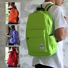 Colour BACKPACK RUCKSACK Bag School Waterproof Quality Unisex Boys Girls S769