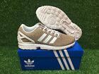 NEW ADIDAS ORIGINALS ZX FLUX MEN'S RUNNING SHOES MULTI COLOR KNIT / WHITE BB2772