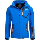Geographical Norway Herren Softshell Jacke Softshelljacke Outdoor Regenjacke