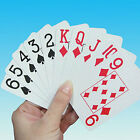 Large Print Playing Cards for Bridge - 5 Sets