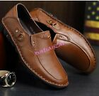 Mens Loafers synthetic leather Slip On Casual Dress moccasins driving Shoes flat