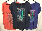 Lucky Brand Women's Graphic Tee Short Sleeve Variety NWT