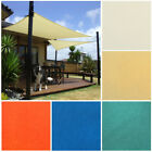 10FT Sun Shade Sail Canopy Patio Triangle Garden Awning Free Rope Waterproof