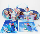 Frozen Party Decorations Supplies Kids Birthday Sets Eating paper Cars Spiderman