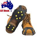 AU Snow Ice Cleats Anti-Slip Shoes Covers Studded Boot Traction Spike Crampons