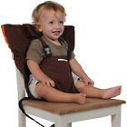 New Baby Portable High Chair Feeding Seat Infant Travel Seat Safety Belt Cover