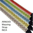 ARNUVO Inca Camera Weaving Strap Neck Shouder Wrist f/ DSLR,RF Camera,Mirrorless