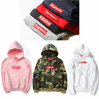 New Supreme Classic Hooded Motion Logo Sweatshirt Mens Womens Jacket Coat
