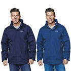 Regatta Royden Mens Navy Waterproof Windproof Hooded Jacket Navy Small