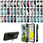 "For HTC Bolt/10 Evo 5.5"" Hybrid Dual Layer Kickstand Protective Case Cover + Pen"