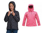 Regatta Esmeralda Girls Kids Waterproof Windproof  Longer Length Mac Jacket