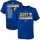 Gloden State Warriors Mens Roster Champion T-Shirt