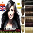 Heavy 200G+ Double Weft Full Head Clip In Real Remy Human Hair Extensions H772