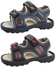Boys Flat Sandals Faux Leather Walking Shoes Comfort Holiday Beach Kids Size