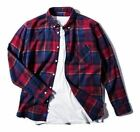 Men Button Down Flannel Shirt