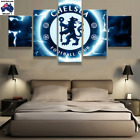 Chelsea Football Club Modern Canvas Wall Art Picture Landscape (5piece)