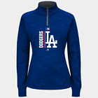 MLB Los Angeles Dodgers Majestic Women's AC Team Icon Hoodie- Royal Blue on Ebay