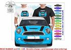 CLASSIC 2011 MINI COOPER S FRONT ILLUSTRATED T-SHIRT MUSCLE RETRO  CAR