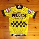 Brand New Team Peugeot Yellow Cycling jersey Tour De France Eddy Merckx