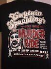 Captain Spaulding - Murder Ride T-shirt rob zombie gore horror
