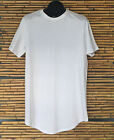 UCXX Elongated Extanded Long Scoop Men Tee T-Shirt 100% Cotton White Black Olive