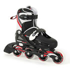Brand New Boys Inline Skates Childrens Skates Black Red In Line Skates