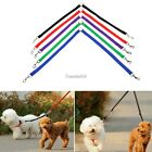 Strong Nylon Double Coupler Dog Pet Lead Leash with Clip for Collar Harness GT56