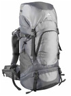 Hiking Camping Backpack 40L Capacity Outdoor Trekking Pack Rain Cover Blue Gray