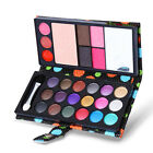 Cosmetic Eye Shadow Makeup Pro Glitter Beauty Travel Purse Bag Palette 18 Colors