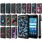 For Kyocera Hydro View C6742/ Shore Hybrid Clear TPU bumper Case Cover + Pen