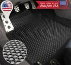 Black/Beige All Weather 4 Pcs Heavy Duty Rubber Floor Mats For 04-08 Acura TL
