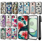 For Motorola Moto Z Play Droid XT1635 Hybrid Clear TPU bumper Case Cover + Pen