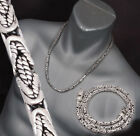 """WOVEN BALI BYZANTINE 925 STERLING SILVER MENS KING CHAIN NECKLACE 20 22 24 28"""""""